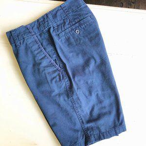 "Old Navy 29"" Waist Navy Cotton Dress Shorts"